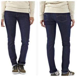Patagonia dark blues jeans